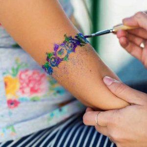 glitter-tattoo